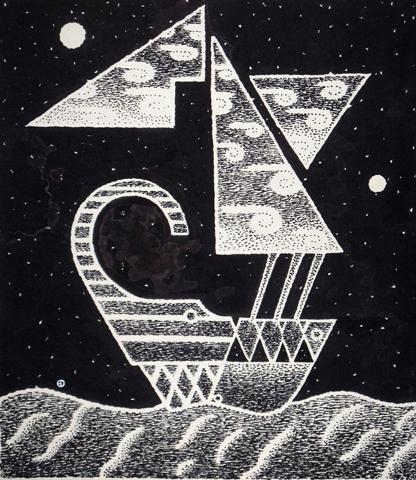 in a dream I saw my freedom ship
