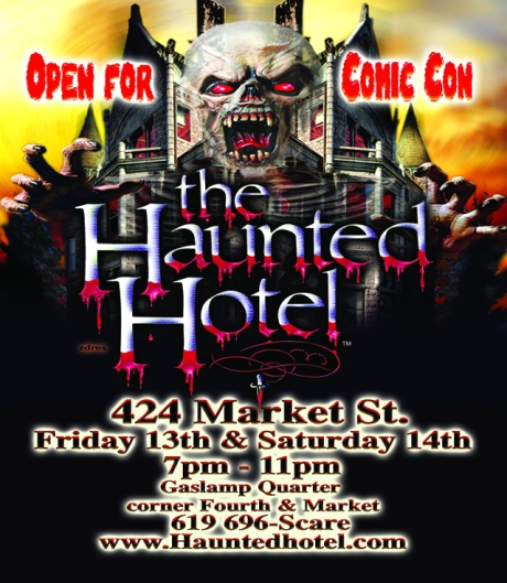 Haunted Hotel & Comic Con!