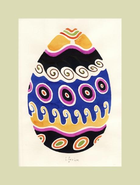 a late Springtime Egg